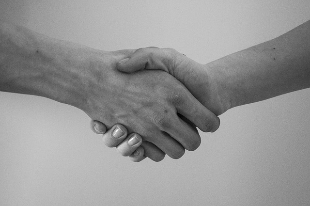 Divine handshake
