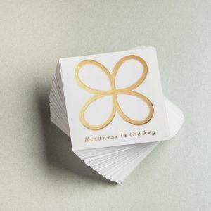 Kindness Key Stickers (Transparent)