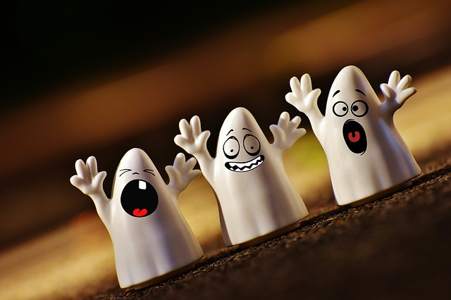 Are you afraid of ghosts?