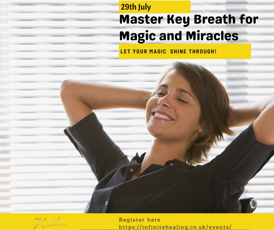 Breathe for magic and miracles